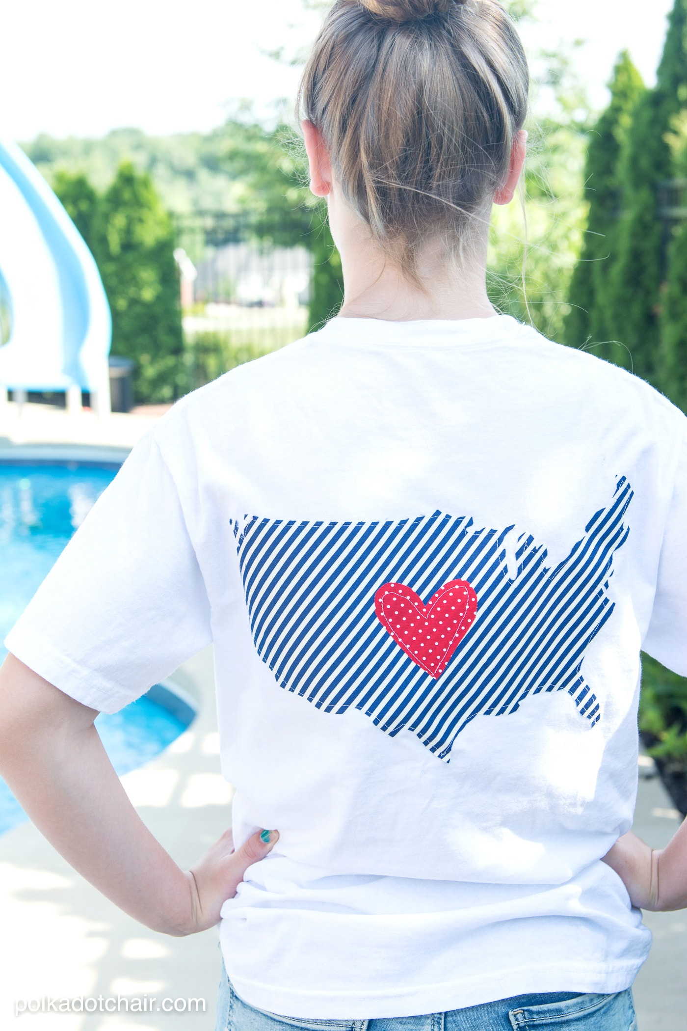 74c5e9564 DIY Pocket Tee for the 4th of July - includes templates for the pocket and  outline
