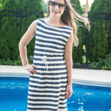 Super Simple Swimsuit Cover-Up Sewing Tutorial