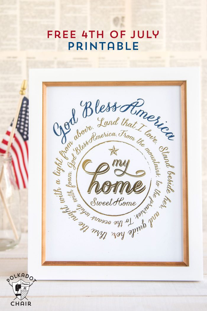 Free Printable signs for the 4th of July parties! Love these you can use them with or without a foil applicator.
