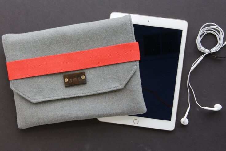 Wool iPad Case Sewing Pattern