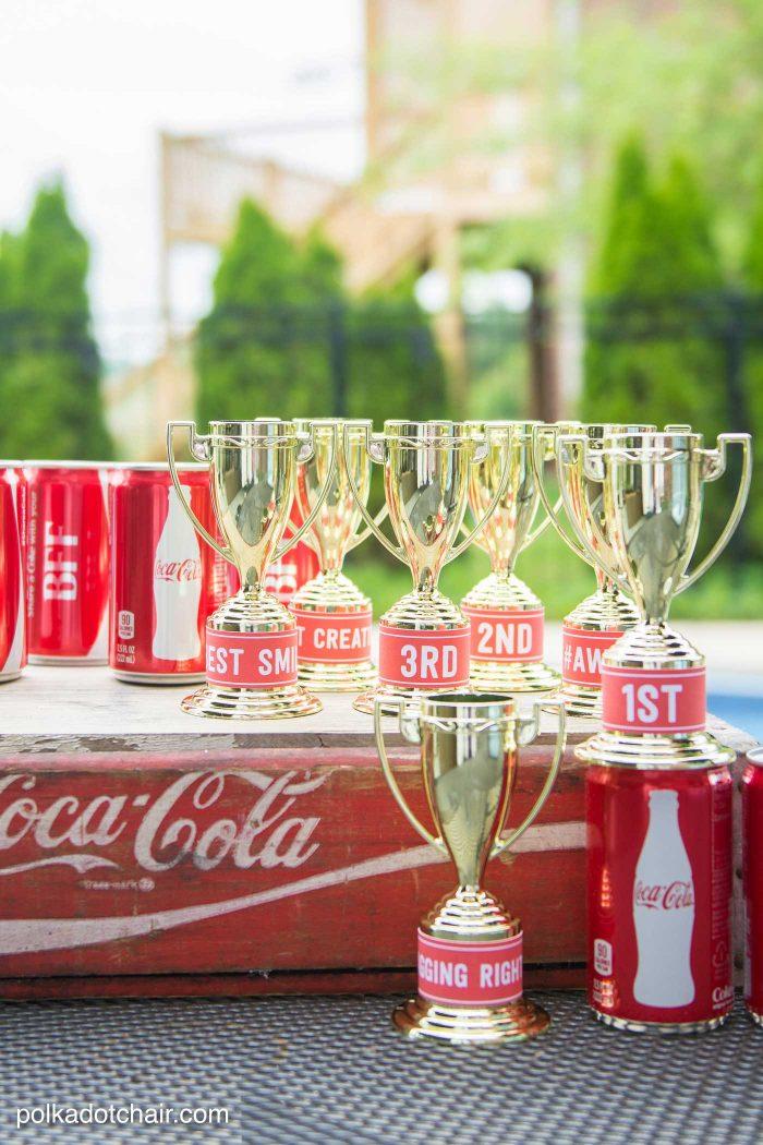 Diy Coke 174 Bottle Outdoor Bowling Game