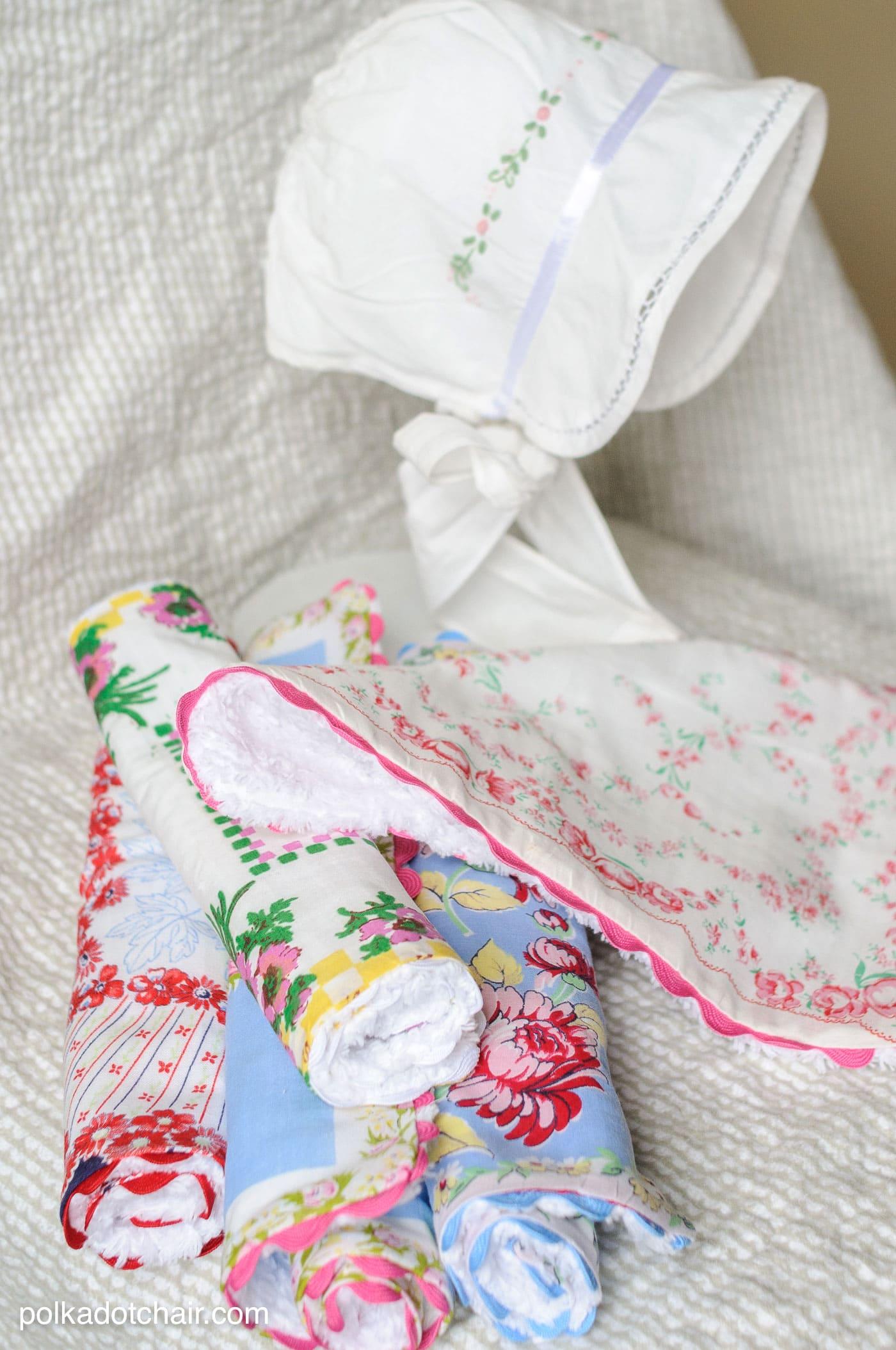 How To Make Baby Burp Cloths