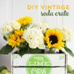 How to make Vintage Soda Crates & Cricut Giveaway!