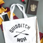 Quidditch Mom Tote, a Harry Potter Craft Idea