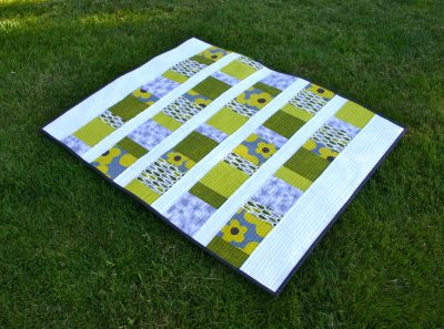 Charm Square Baby Quilt
