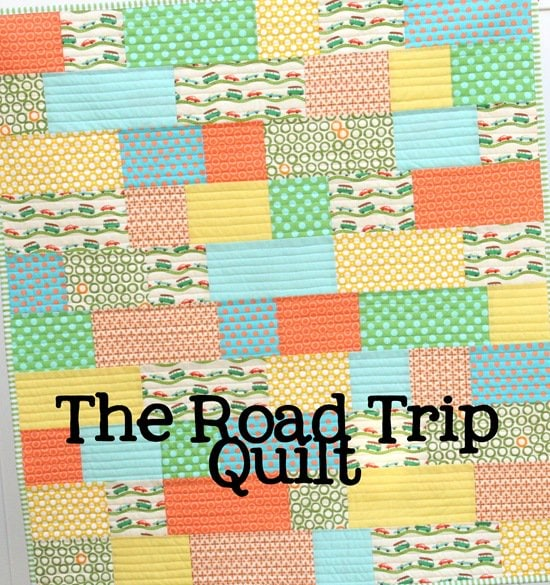 Road Trip Quilt Tutorial