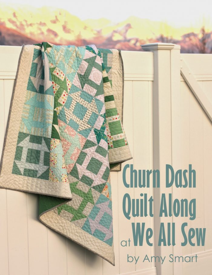 Churn Dash Quilt Along