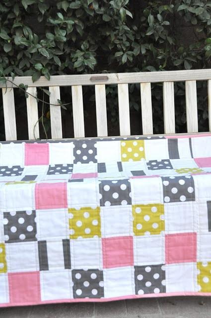 Simple squares quilt