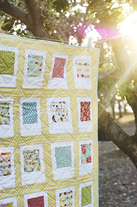 Easy Scrappy Strips Baby Quilt Tutorial & Quilt Pattern ...