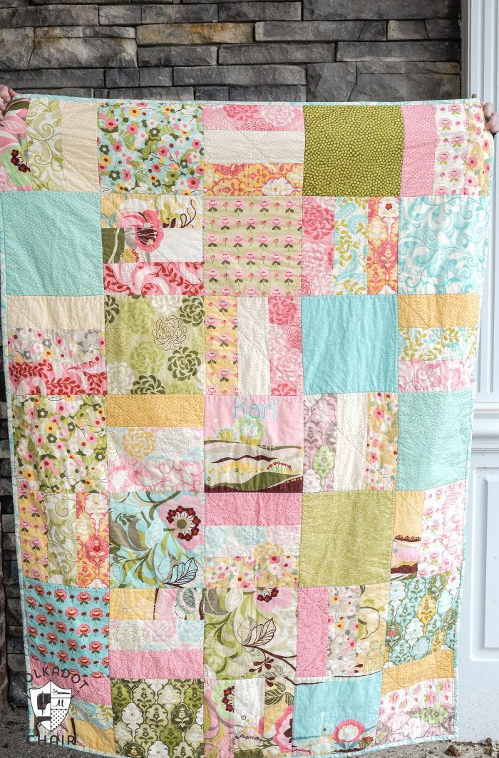 Tuesday Tutorial Snuggly Layer Cake Quilt A March Bag Giveaway