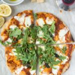 Recipe: Margherita Pizza with Arugula & Lemon Salad