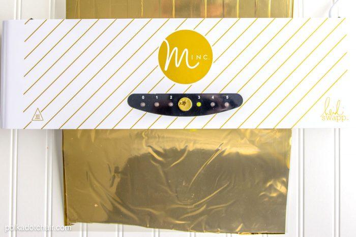 Minc Foil Machine by Heidi Swapp