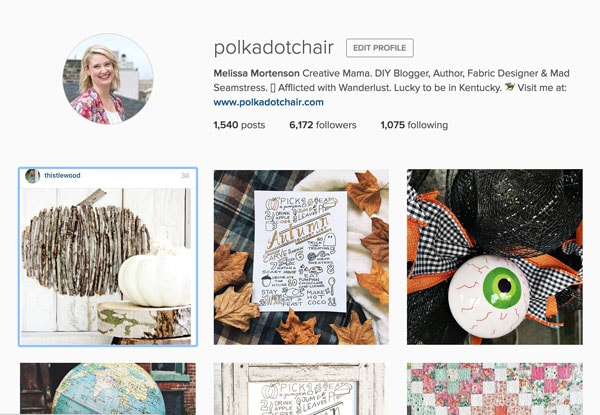 Follow @polkadotchair on Instagram