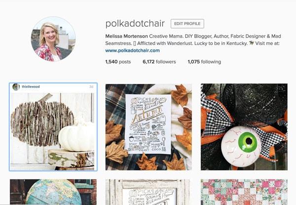 Follow @polkadotchair on Instagram