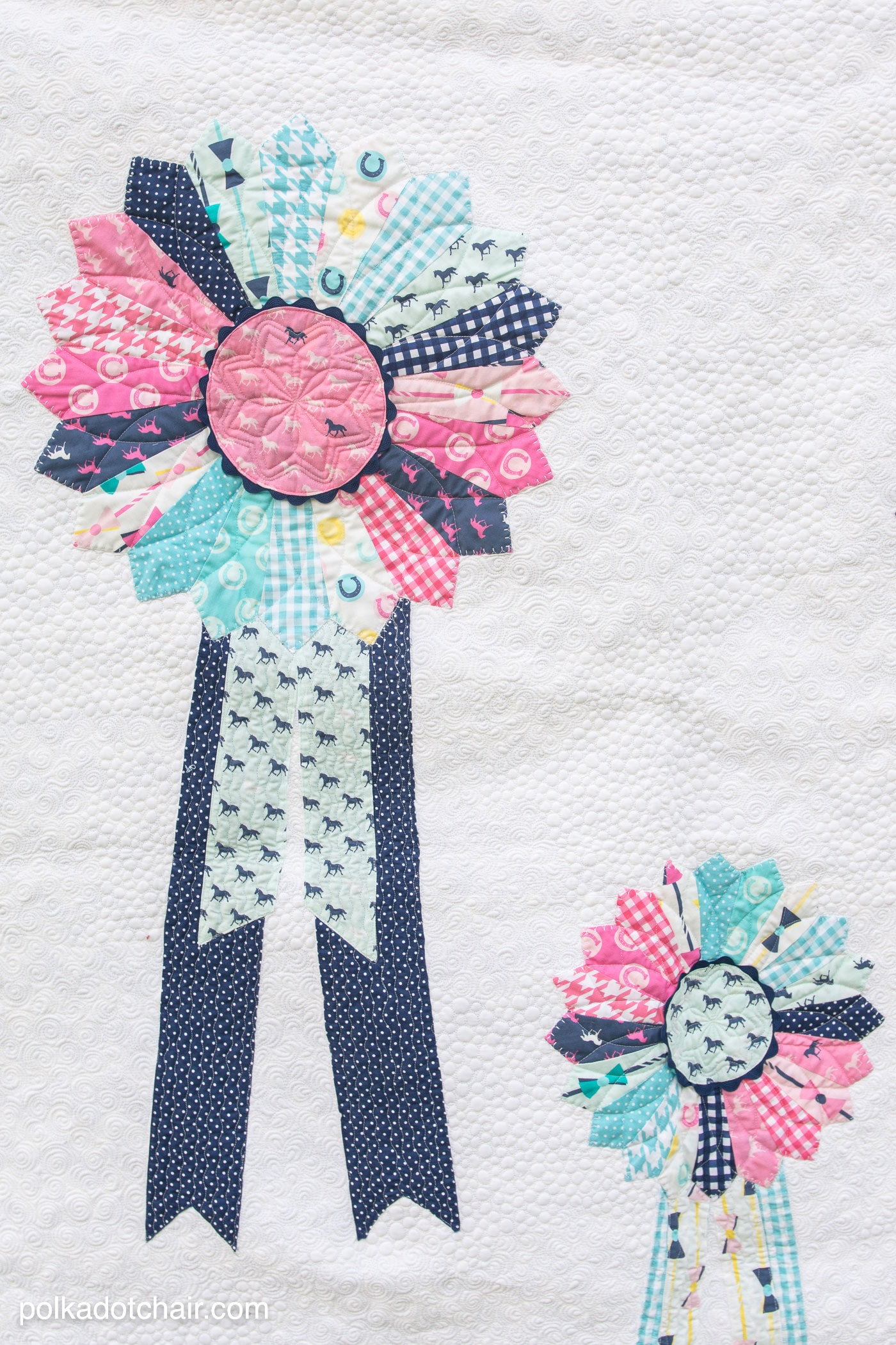 Prize Ribbons Quilt Pattern