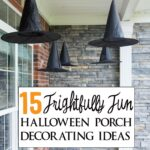 15 Frightfully Fun ways to decorate a porch for Halloween