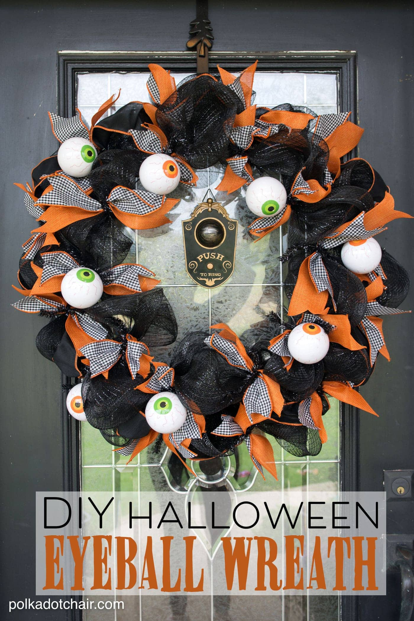 Diy halloween wreath - Diy Halloween Wreath