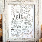 Printable Autumn Bucket List