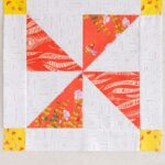 October Block of the Month: Pinwheel Quilt Block