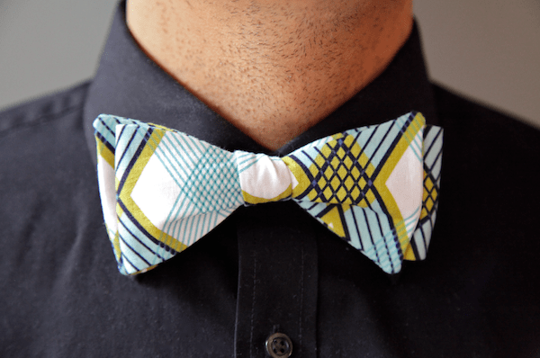 Bow Tie Sewing Pattern & Tutorial