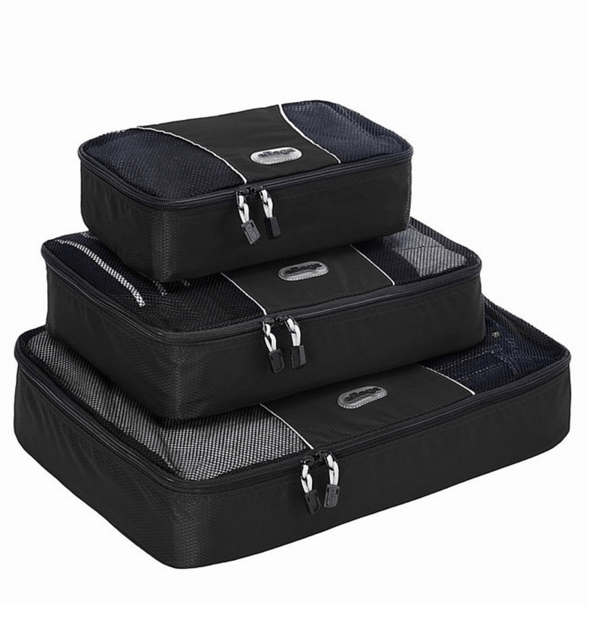 Set of Travel Packing Cubes