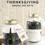 Thanksgiving Mason Jar Gift Idea