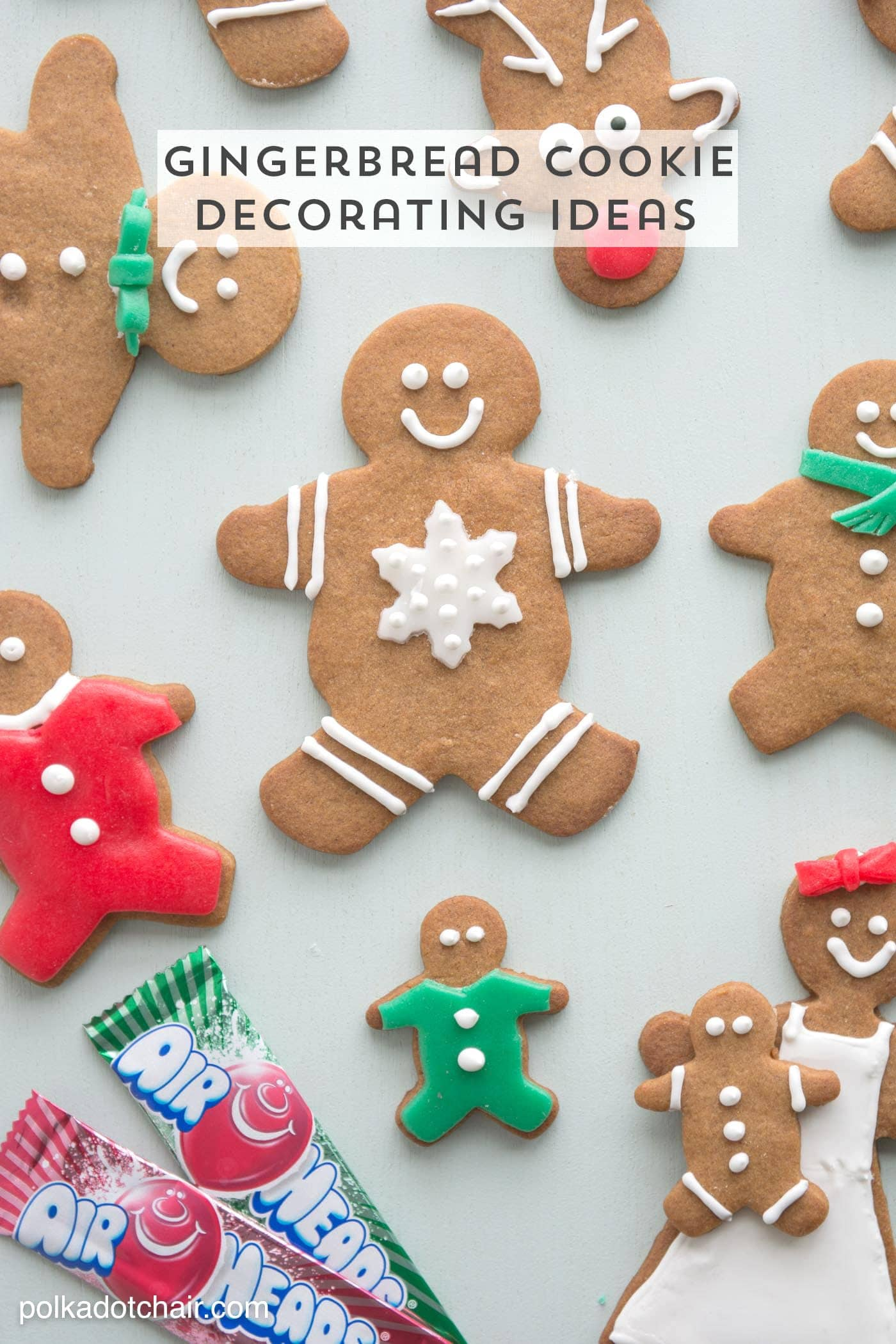 Tremendous Gingerbread Cookie Decorating Ideas The Polka Dot Chair Easy Diy Christmas Decorations Tissureus