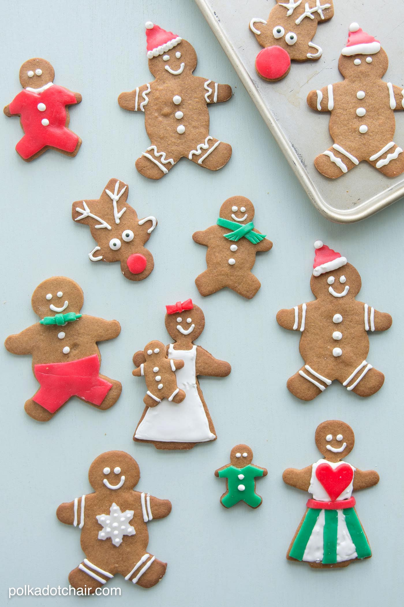 Enjoyable Gingerbread Cookie Decorating Ideas The Polka Dot Chair Easy Diy Christmas Decorations Tissureus