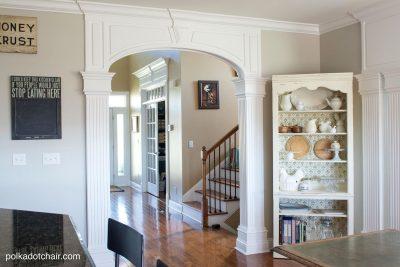 diy-kitchen-storage - The Polka Dot Chair