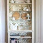 DIY Stenciled Bookcase & Giveaway