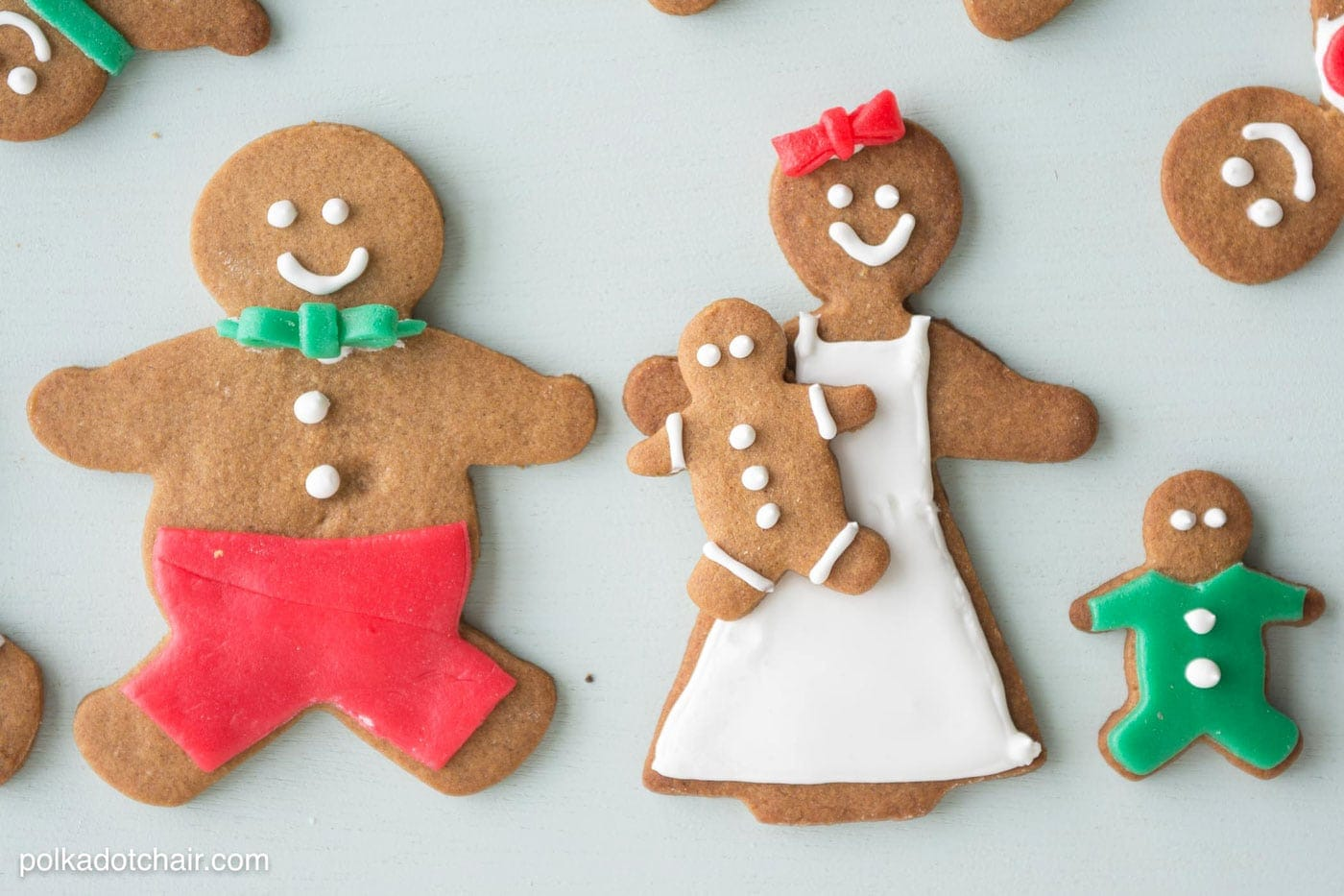 our favorite gingerbread cookie recipe the polka dot chair