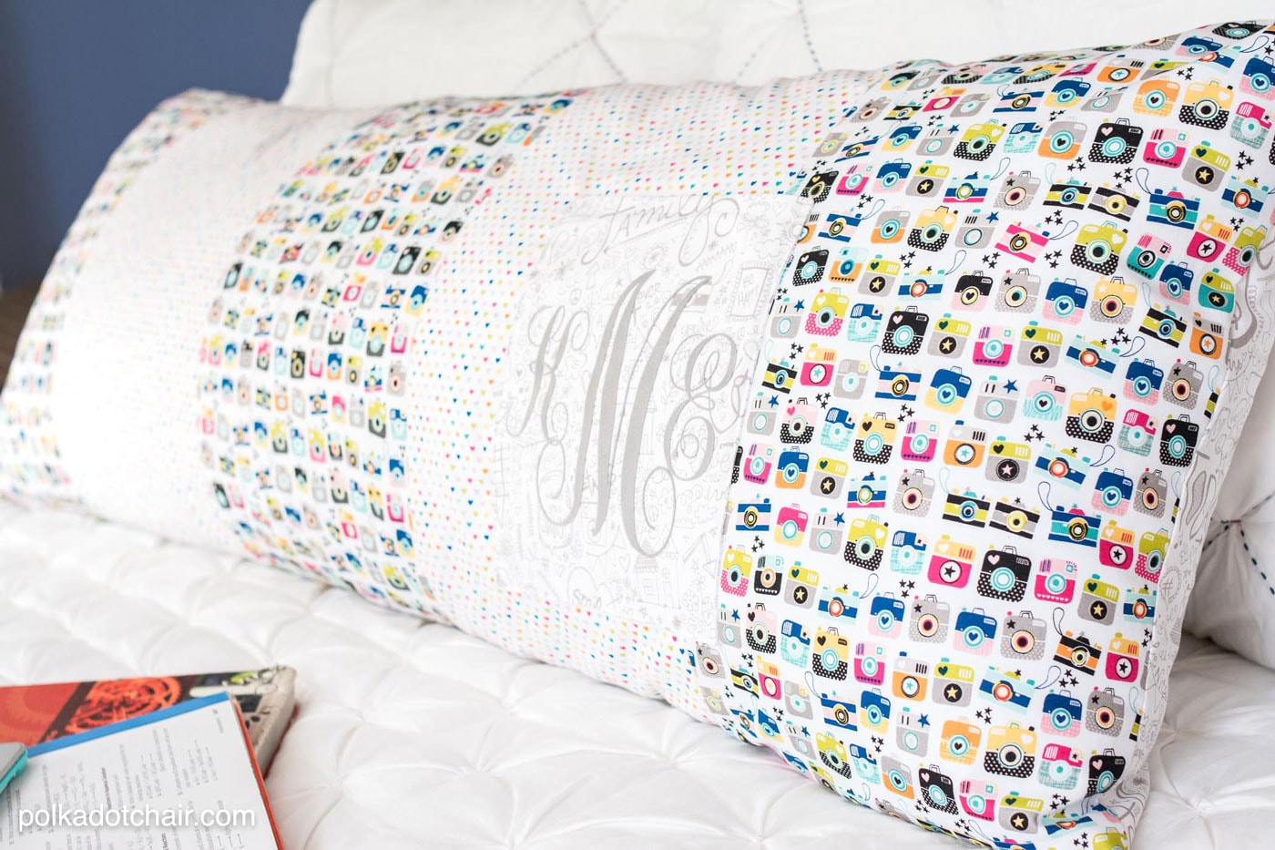 Giant Body Pillow Sewing Pattern With Pocket