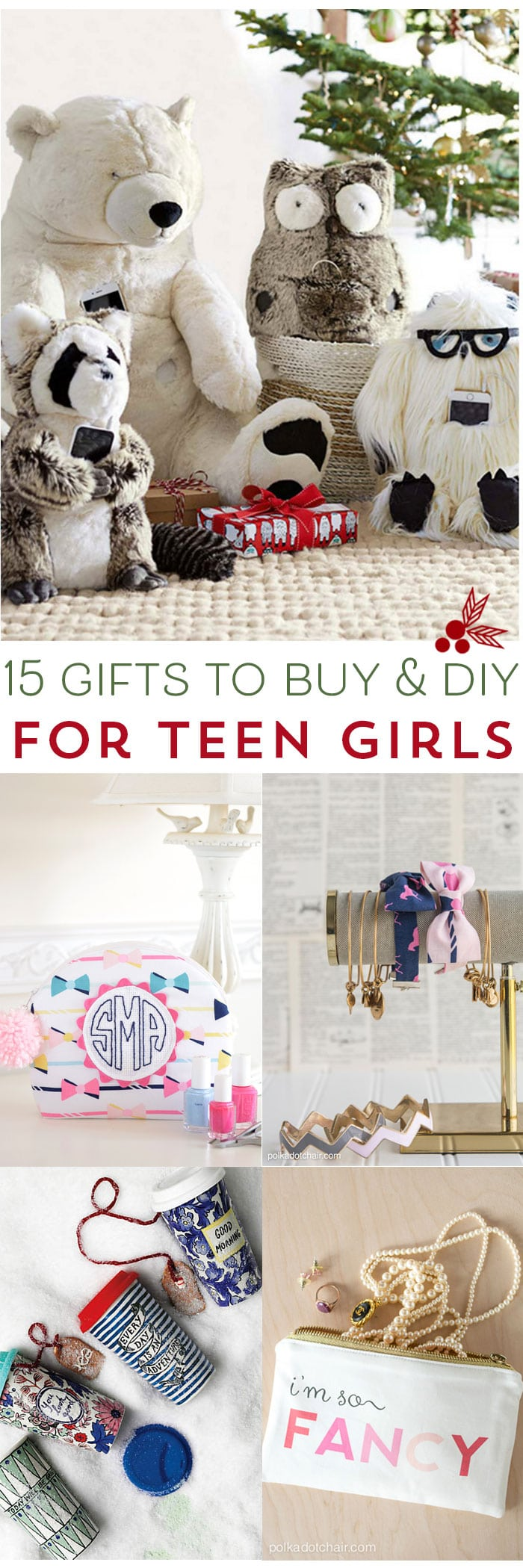 15 Gifts for Teen Girls to DIY and Buy - The Polka Dot Chair