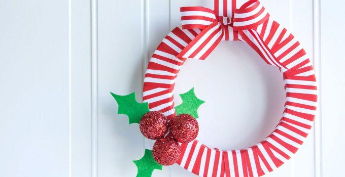 Holly Berry DIY Christmas Wreath