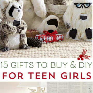 15 Gifts for Teen Girls to DIY and Buy