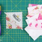 How to make a Half Square Triangle Quilt Block