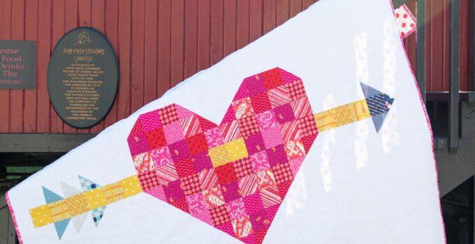 My Valentine's Day Heart Quilt