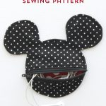 Mickey Mouse Inspired Earbud Pouch Sewing Pattern