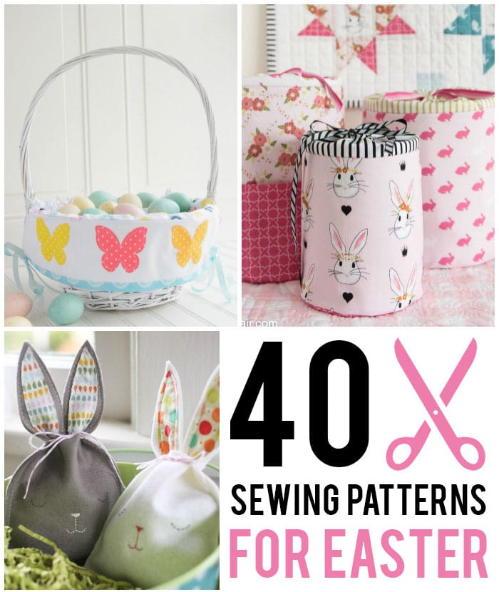 What Degrees Is It Outside >> 40 Easter Sewing Projects & Ideas - The Polka Dot Chair