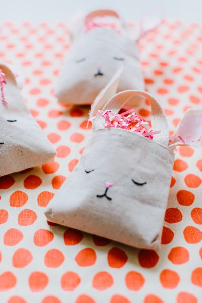 Easter Bunny Treat Bags by Style me Pretty