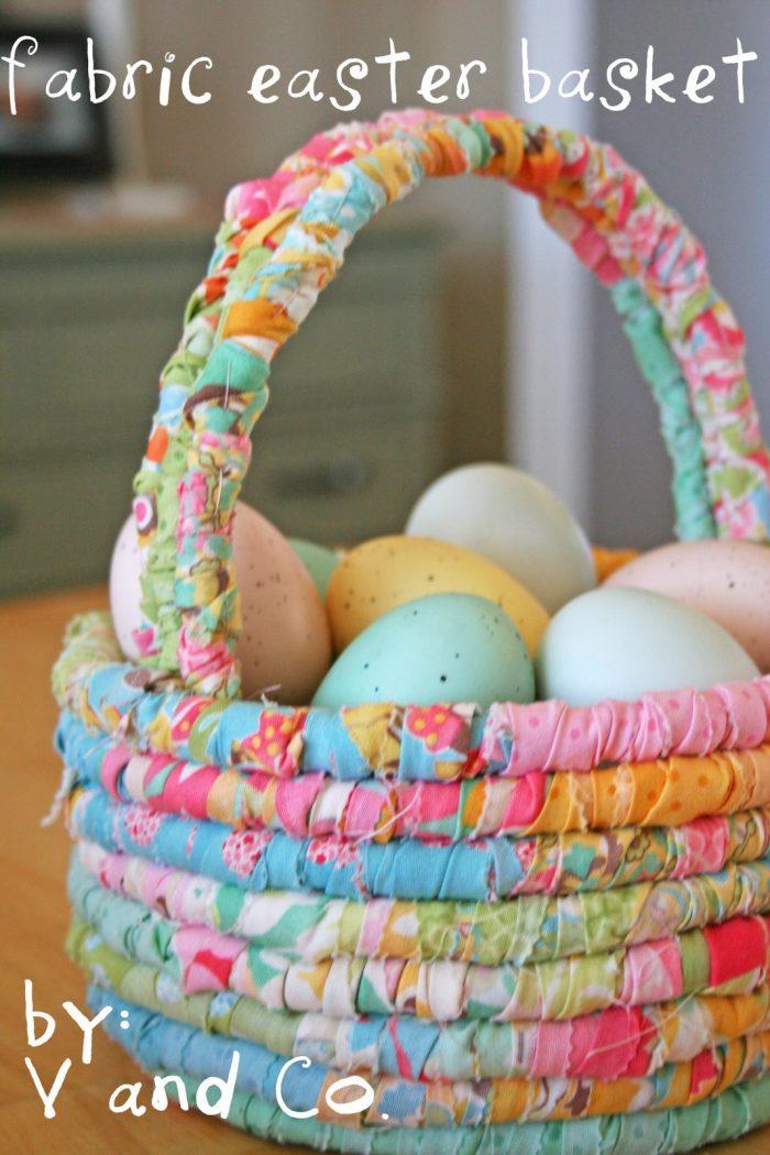Easter Basket Pattern by Moda Bake Shop