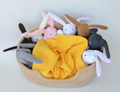 Easter Bunny Softies Sewing Pattern from Sew Mama Sew