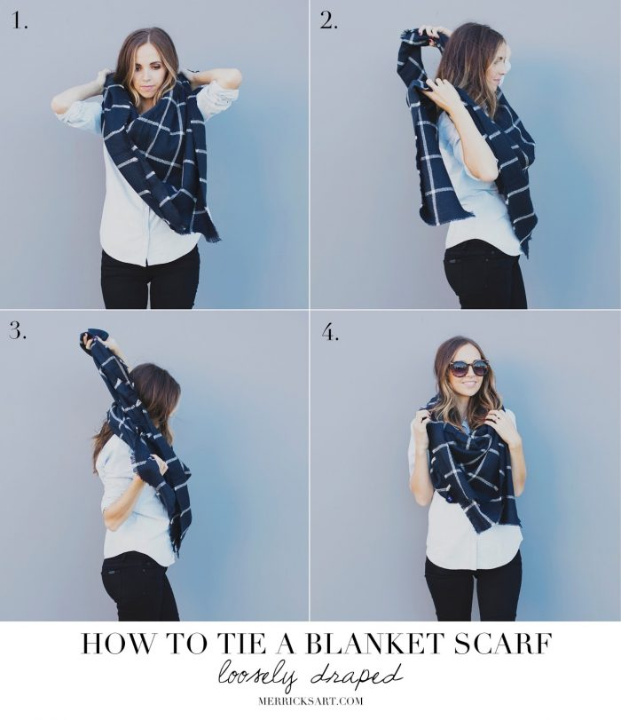 How to Style a Blanket Scarf1