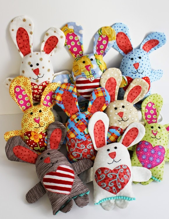 Easter Bunny Sewing Pattern by Jennifer Jangles