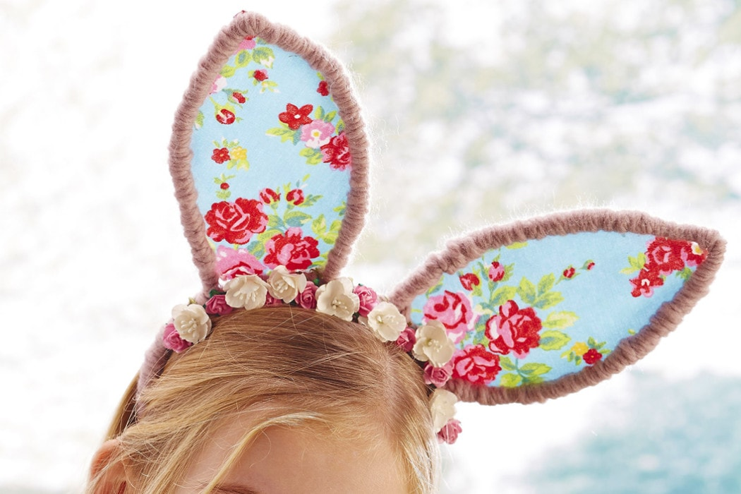 40 easter sewing projects ideas the polka dot chair easter bunny ears pattern from hobbycraft negle Gallery