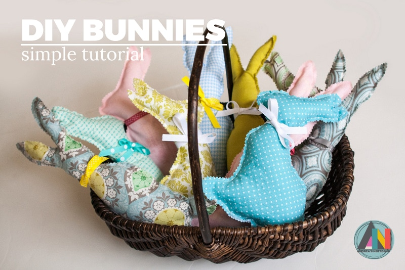 40 easter sewing projects ideas the polka dot chair easter bunny softies by andreas notebook negle Gallery