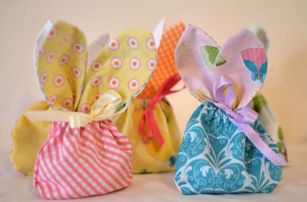 Bunny Treat Bags Sewing pattern from Sew Can She