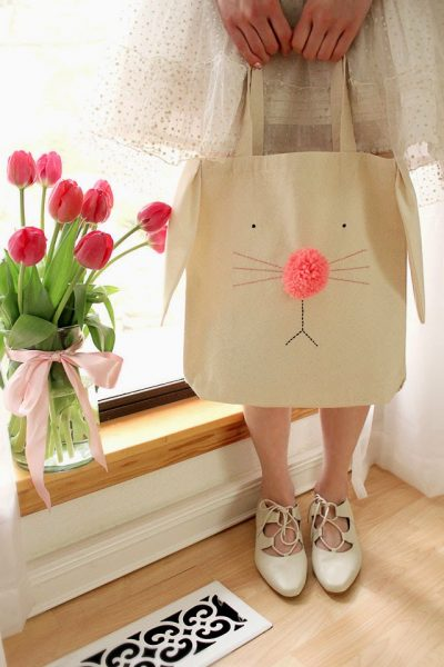 Bunny Tote Bay by Wear the Canvas