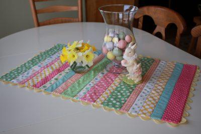 Easter Table Runner by Callie Makes Do