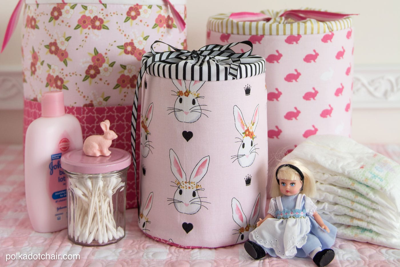 Padded Storage Cases; sewing pattern by polkadotchair.com